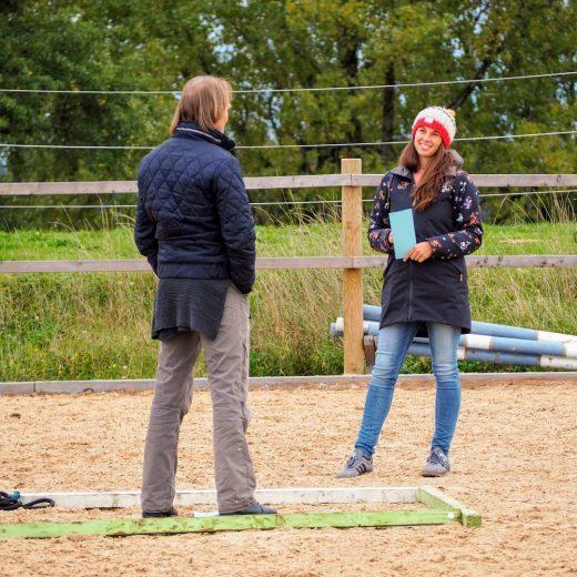 Coachingsituation mit Eisi Gulp