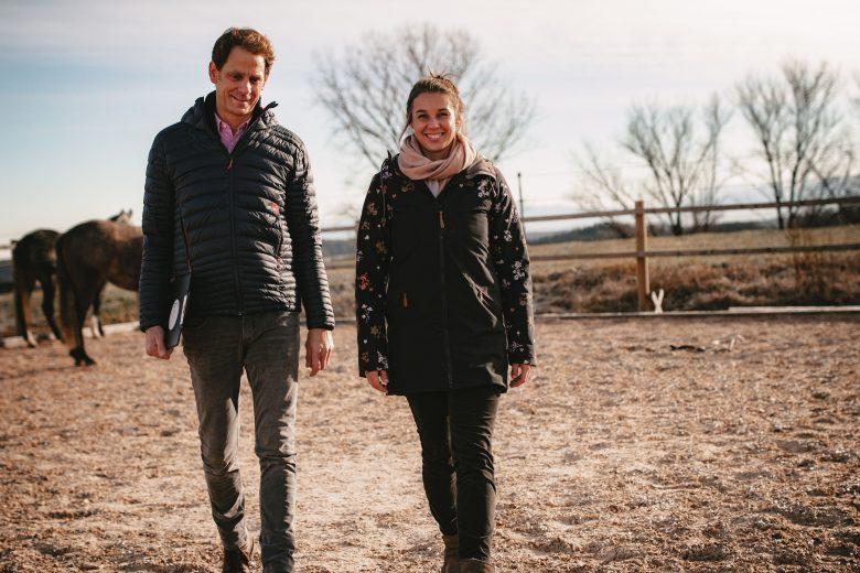 Catharina und Helwig Falch auf dem Happy Place